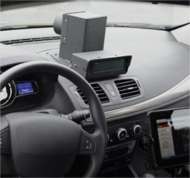 mise en service des 1 res voitures radar conduites par un op rateur priv auto ecole etairos. Black Bedroom Furniture Sets. Home Design Ideas